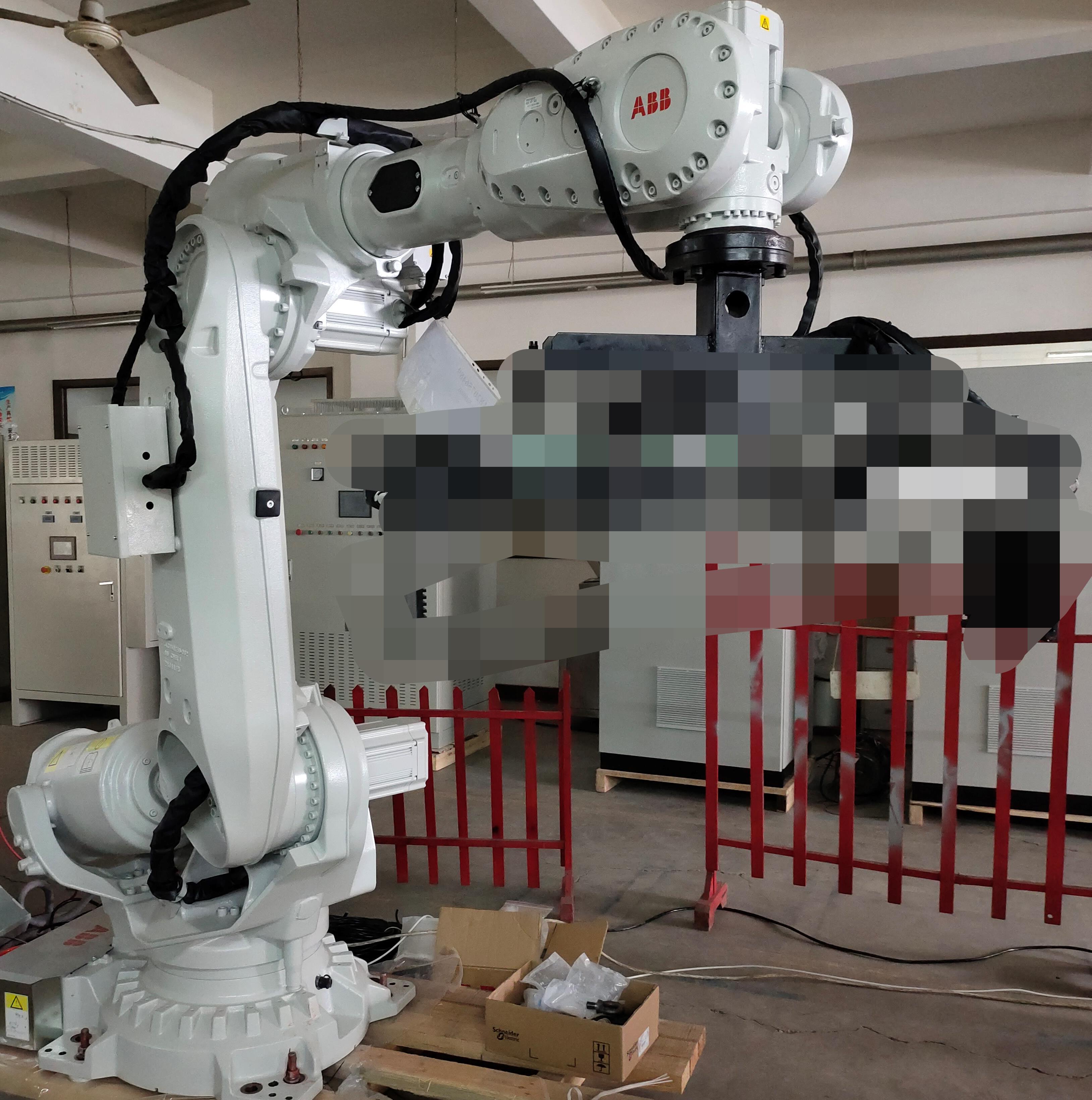 铝锭熔炉投料机器人