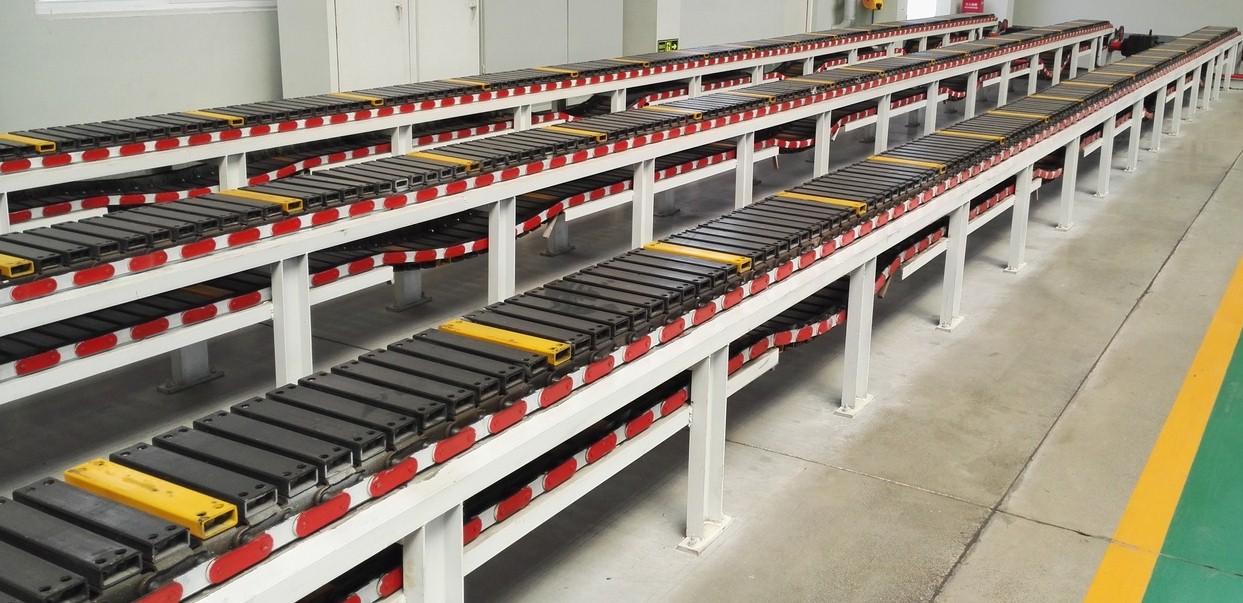 铝锭生产输送线