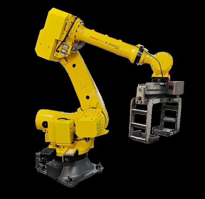 机器人底粉转件装置