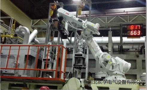 铝熔炉投料机器人