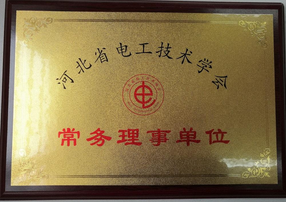 河北省电工技术协会常务理事单位
